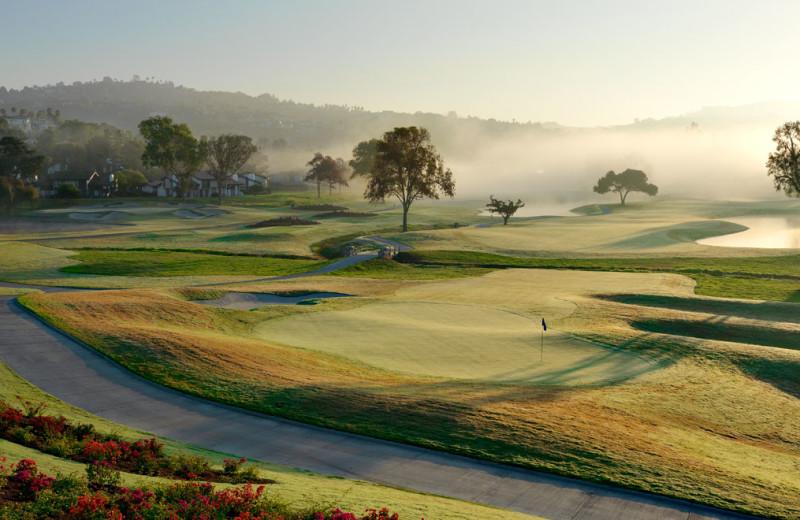 Golf course at La Costa Resort & Spa.