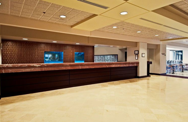 Front Desk at NCED Conference Center and Hotel