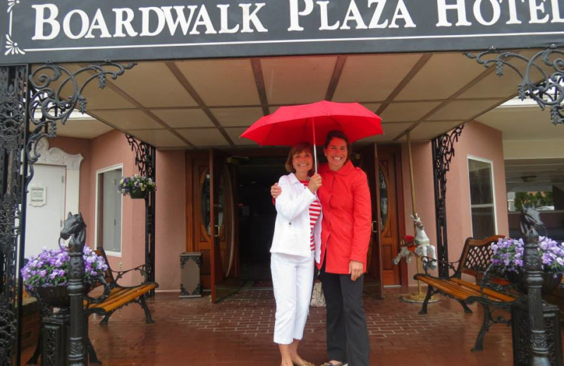 Welcome to Boardwalk Plaza Hotel.