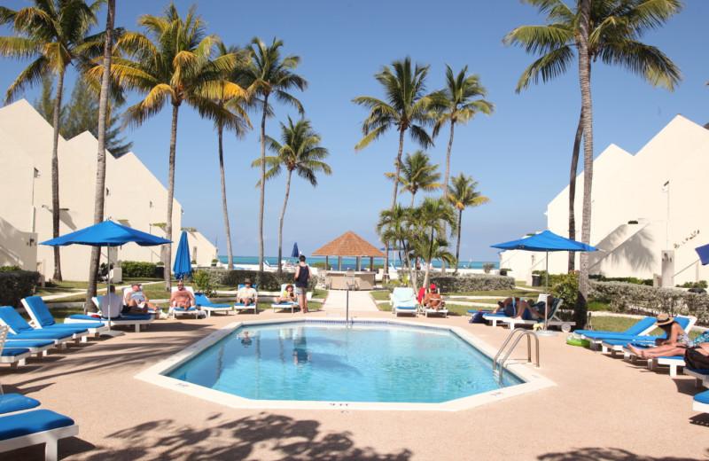 Outdoor pool at Westwind II Club.