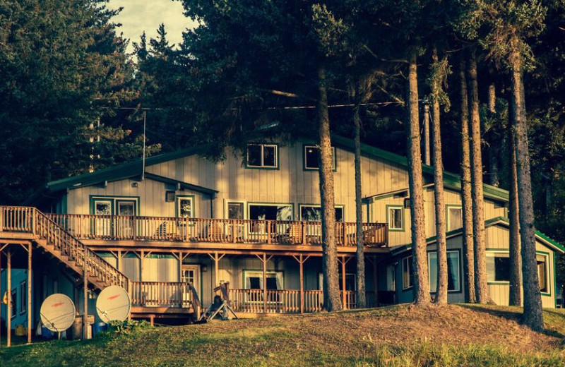 Exterior view of Wilderness Beach Lodge.