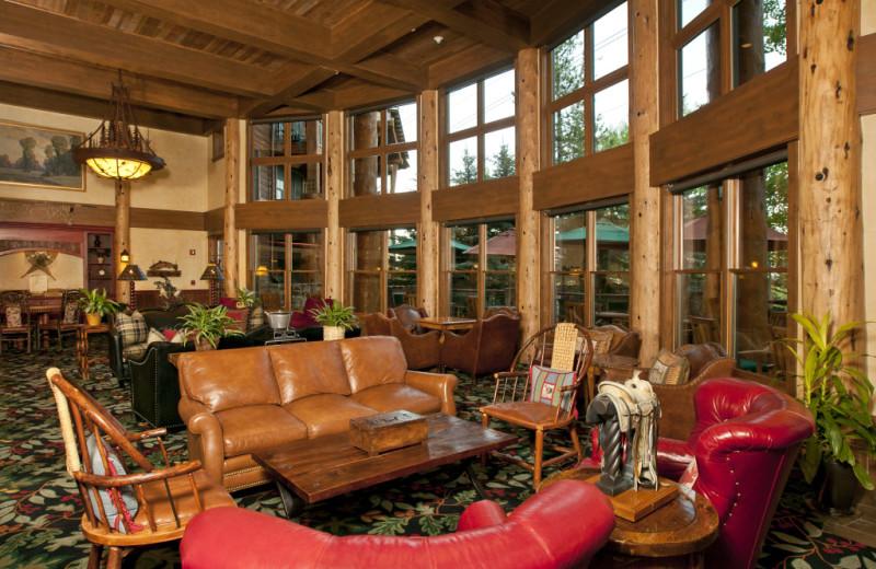 Vacation rental lobby at Cabin and Company.