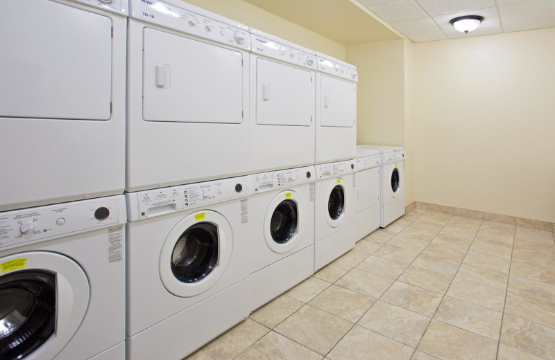 Laundry facilities at Staybridge Suites Stow.