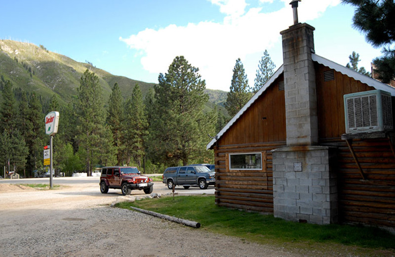 Exterior view of Sourdough Lodge.