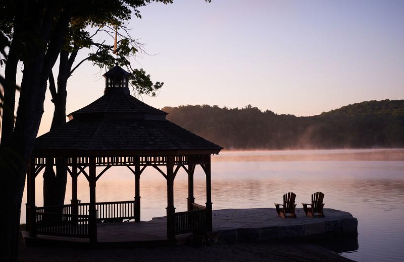 Lake view at Deerstalker Resort.
