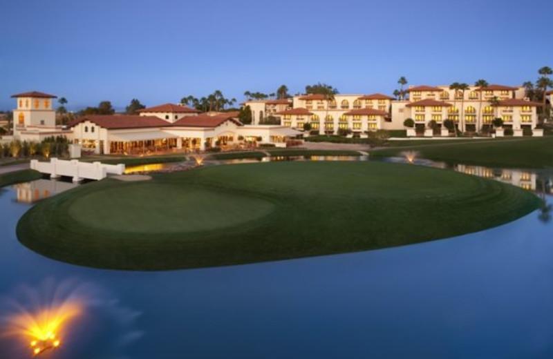 Golf course at Arizona Grand Resort.