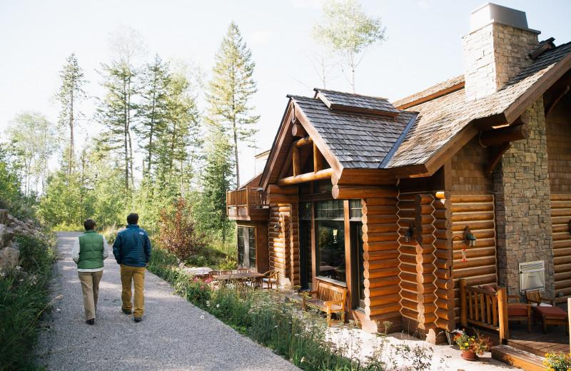 Exterior view of Teton Springs Lodge.