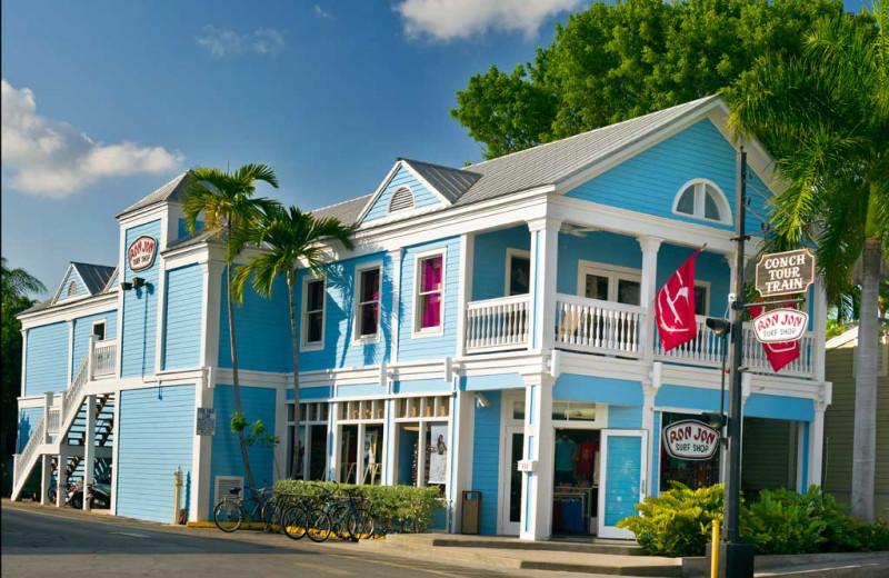 Shopping at The Inn at Key West.