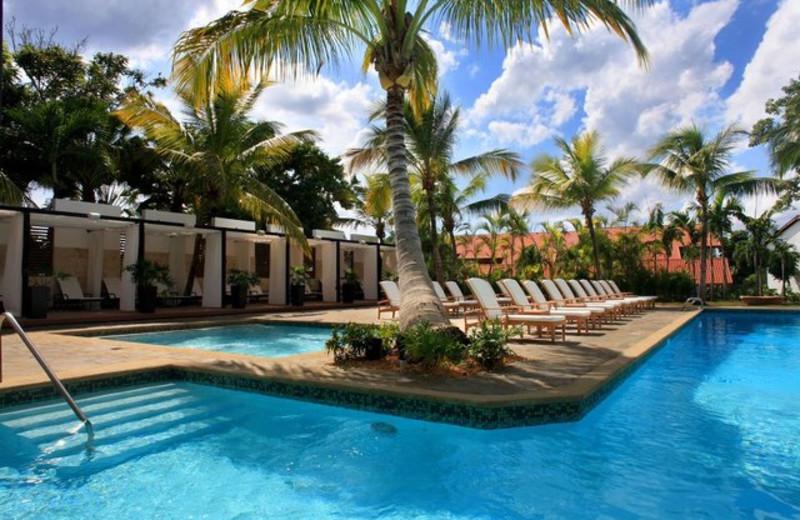 Outdoor pool at Casa de Campo.