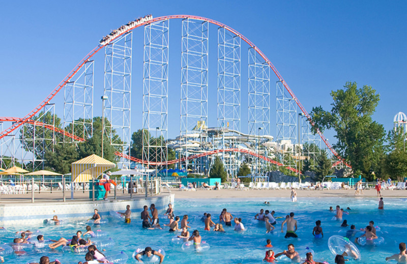 Cedar Point water park at Hotel Breakers.