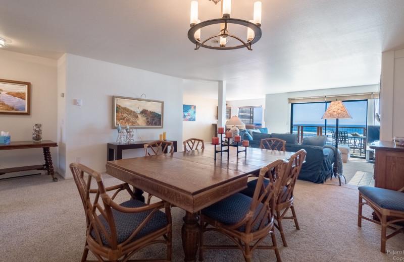 Rental interior at Pajaro Dunes Resort.