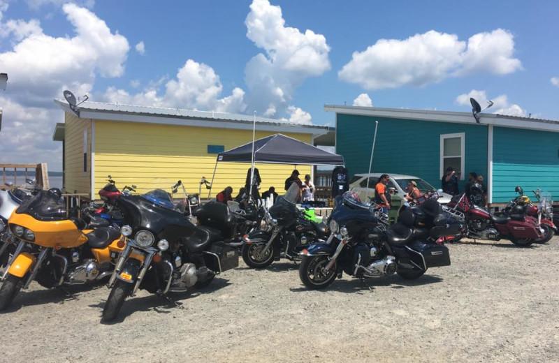 Groups at D'Arbonne Pointe.