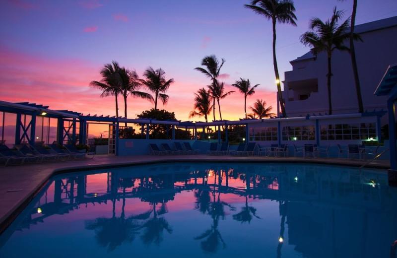 Outdoor pool at Paradise Island Beach Club.