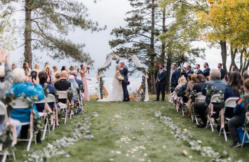 Weddings at The Red Door Resort.