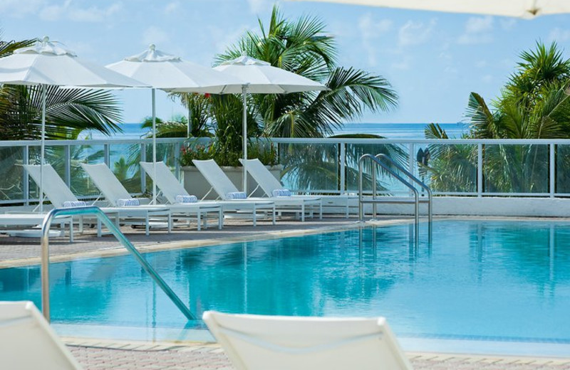Outdoor pool at The Westin Beach Resort & Spa, Fort Lauderdale.