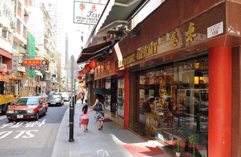 Shopping near Bishop Lei International House.