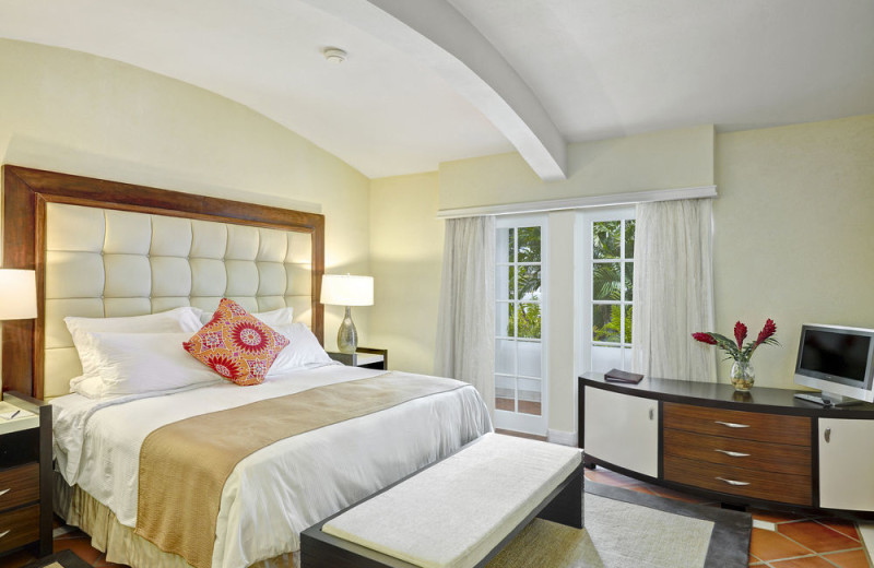 Guest room at The House Barbados.
