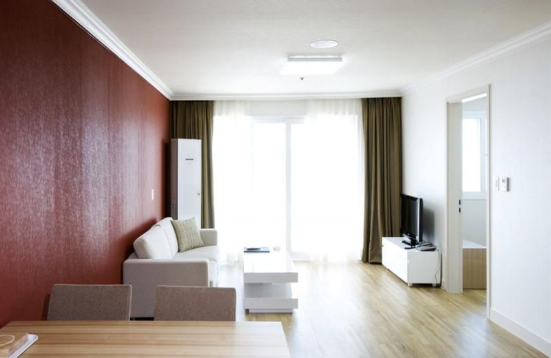 Guest room at Sorak Kumho Resort.