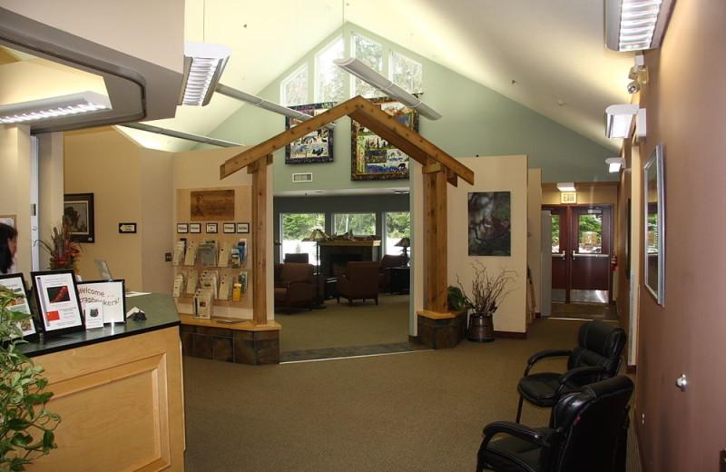 Reception at Honeymoon Bay Lodge & Retreat.
