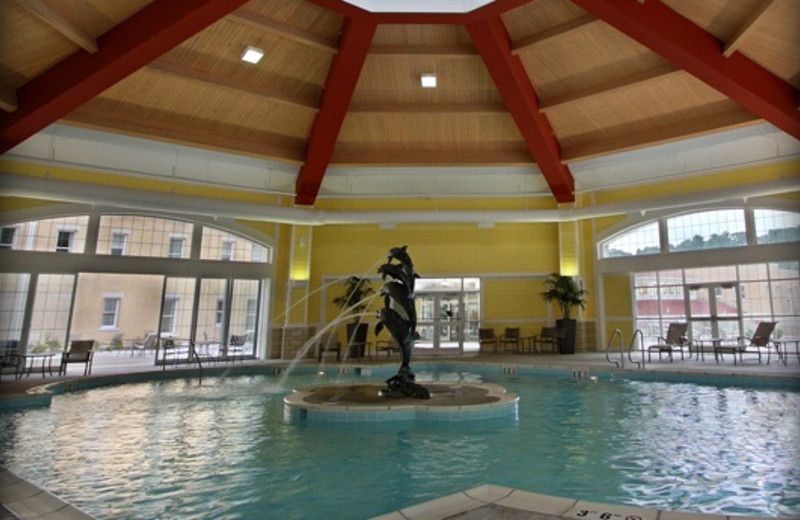 Indoor pool at French Lick Resort.