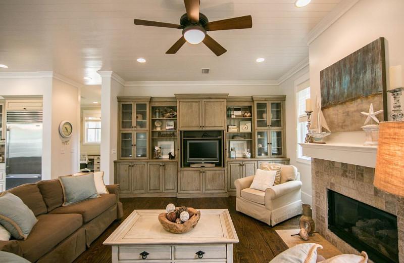 Rental living room at Dune Real Estate Company.