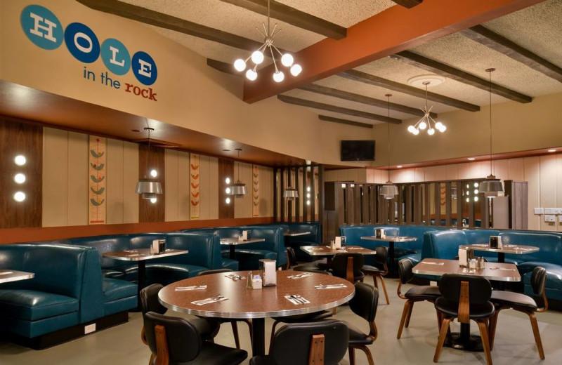 Dining at Magnuson Hotel Papago Inn.