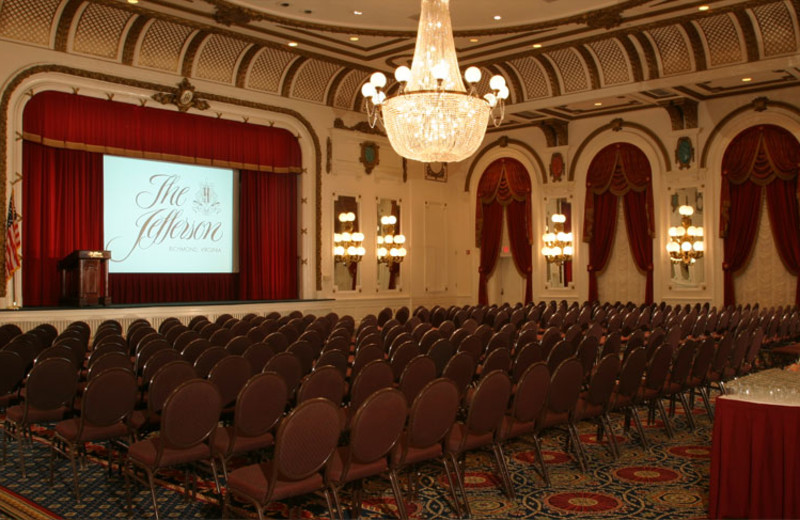 Conference at The Jefferson Hotel.