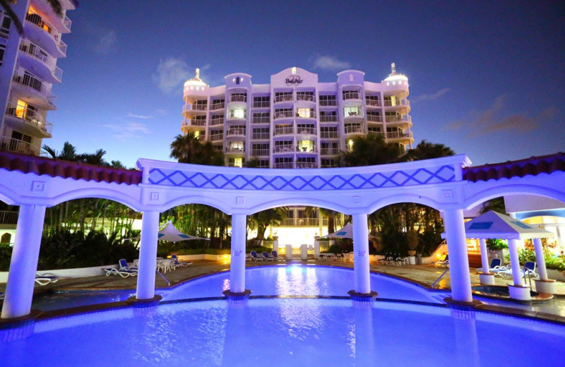 Exterior view of Mantra Bel Air Resort.