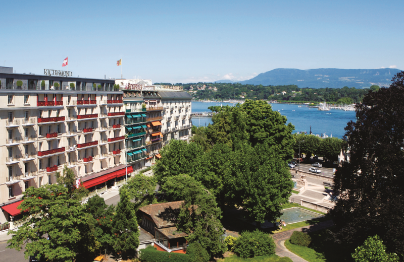 Exterior view of Le Richmond Geneve.