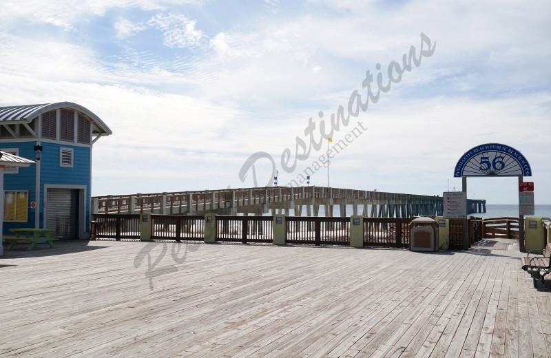 Pier at Resort Destinations.