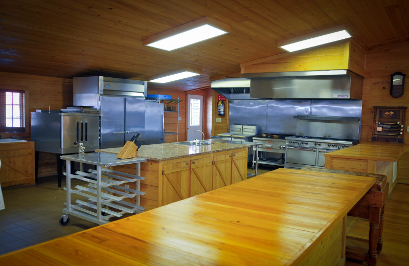 Guest kitchen at Buckhead Ranch.