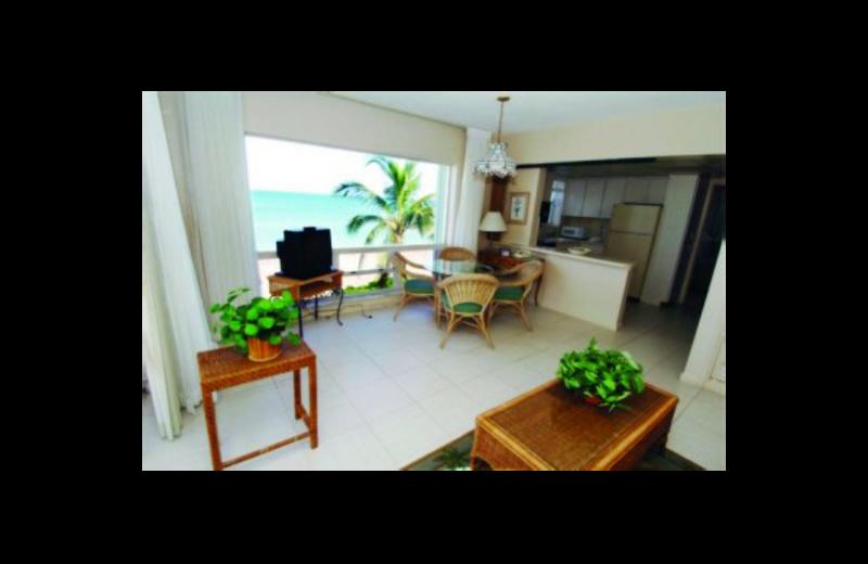 Guest room at Villa Caprice Resort Motel.