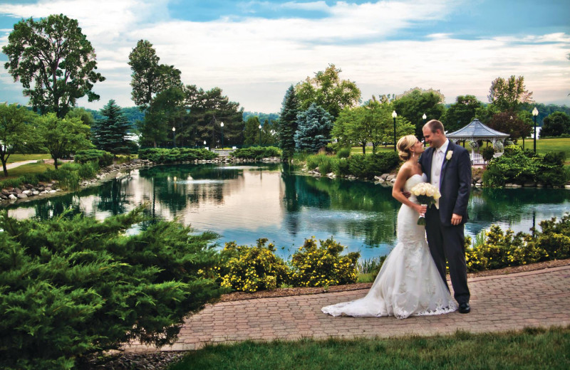 Weddings at The Osthoff Resort.