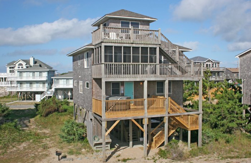 Vacation Rental View at Hatteras Realty