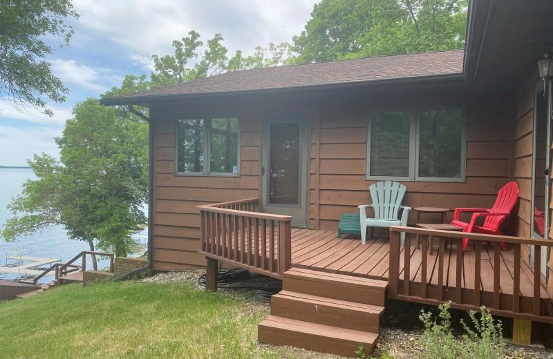 Rental exterior at Lakes Area Rentals.