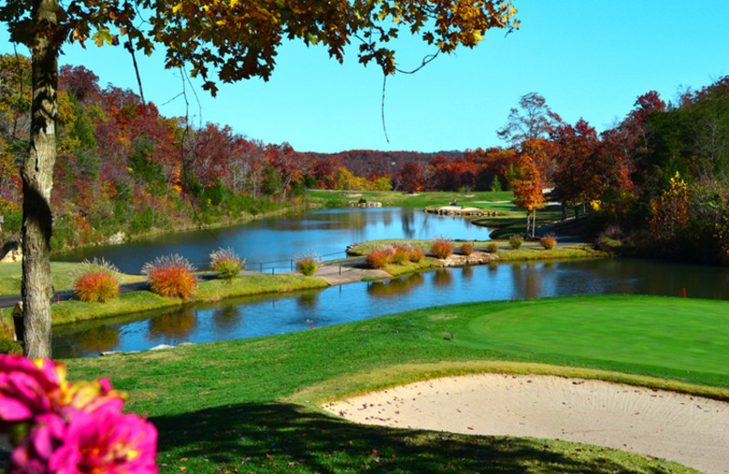 Golf course at Stonebridge Resort.