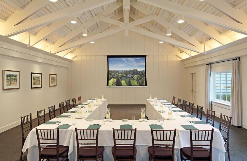 Conference Room at Meadowood Napa Valley.