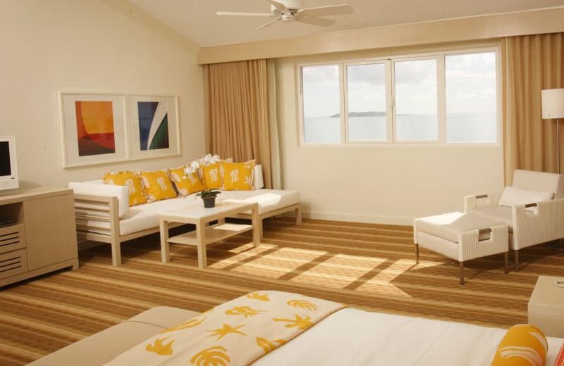 Guest room at Wyndham El Conquistador Resort.