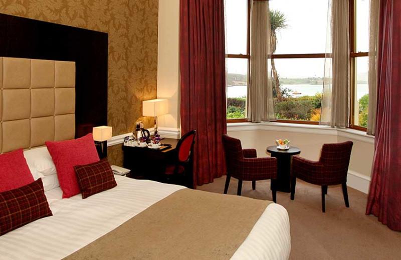 Guest room at Cuillin Hills Hotel.