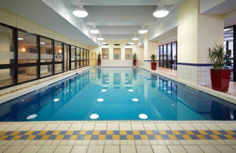 Indoor pool at Ottawa Marriott Hotel.