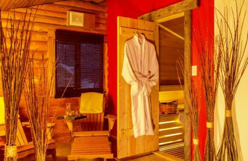 Spa at Tagish Wilderness Lodge.
