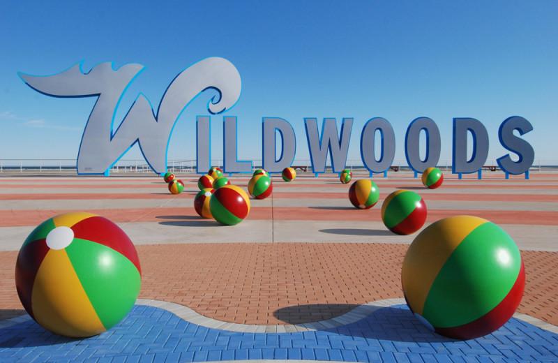 Wildwoods amusement park at Surf Song Beach Resort.