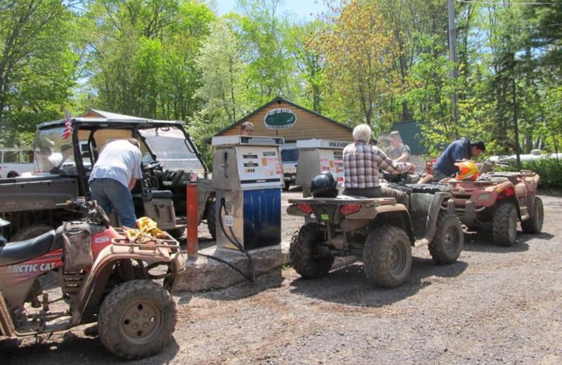 ATV at Lac La Belle Lodge.