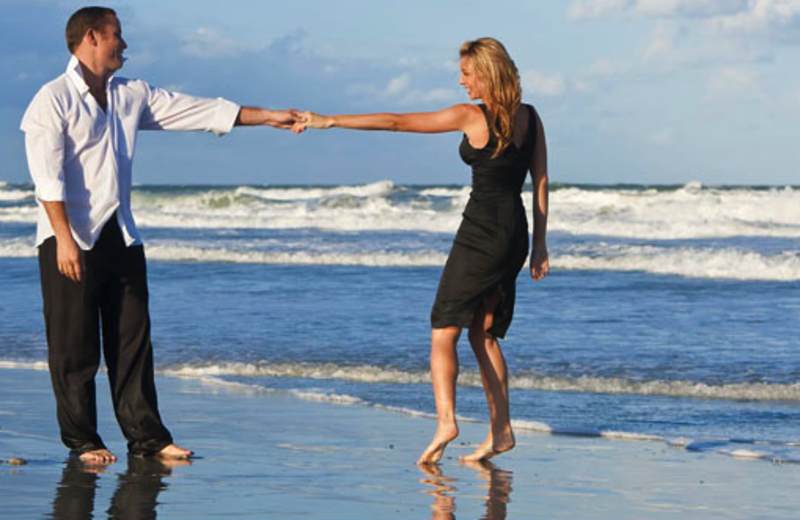 Romantic Beach Walk at Affordable Vacation Rentals