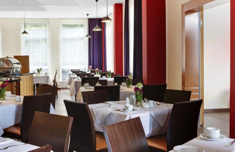 Dining at Inter City Hotel Kassel.