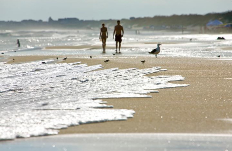 Walking On The Coast at Hatteras Realty