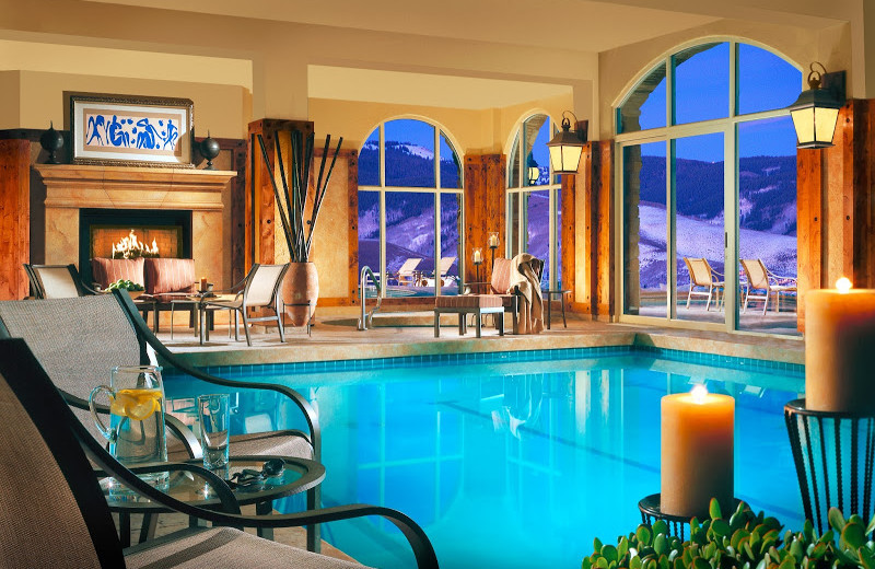 Indoor pool at Lodge & Spa At Cordillera.