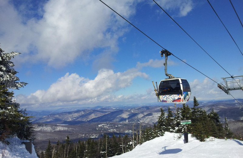 Gondola at Killington Resort.