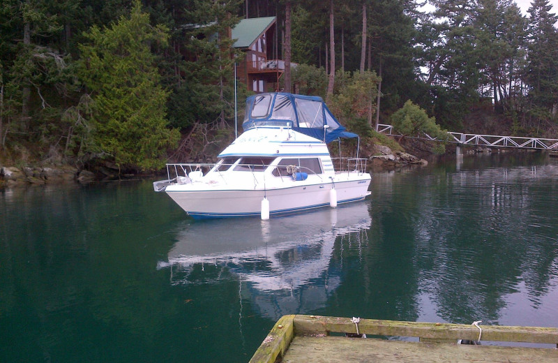 Boating at Blue Vista Resort.