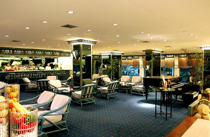 Lounge at Amari Rincome Hotel.
